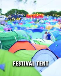 Festival kampeertent