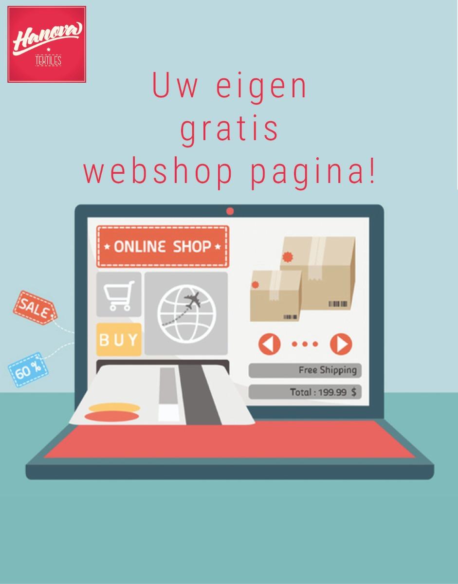 Hanova Eigen Gratis Webshop Pagina