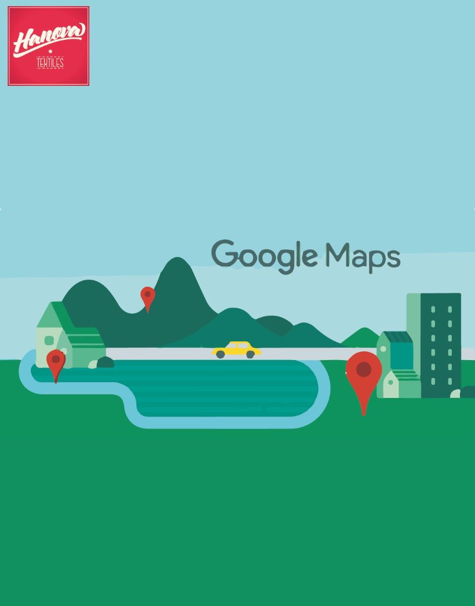 Google Maps Hanova Textiles