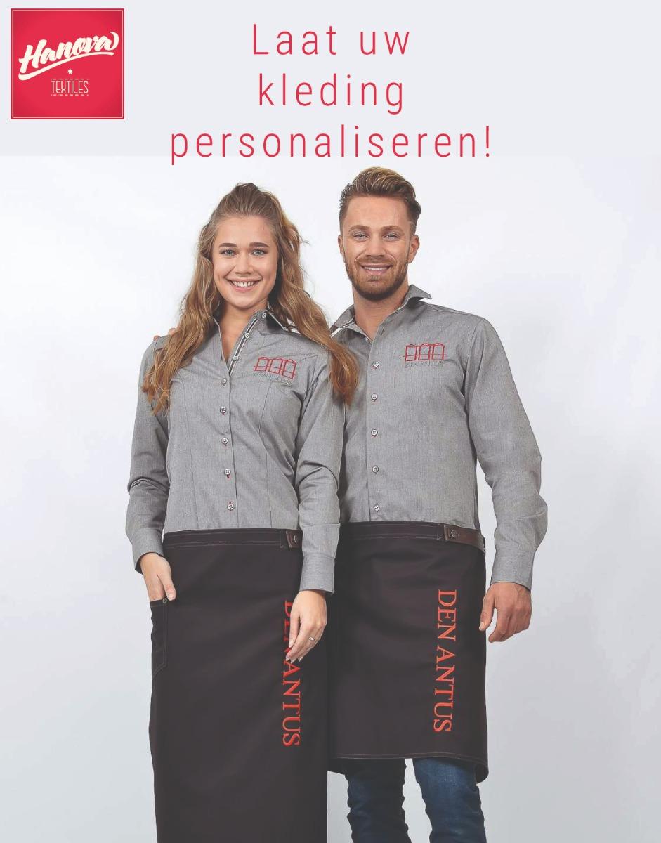 Kleding personaliseren, Hanova Textiles